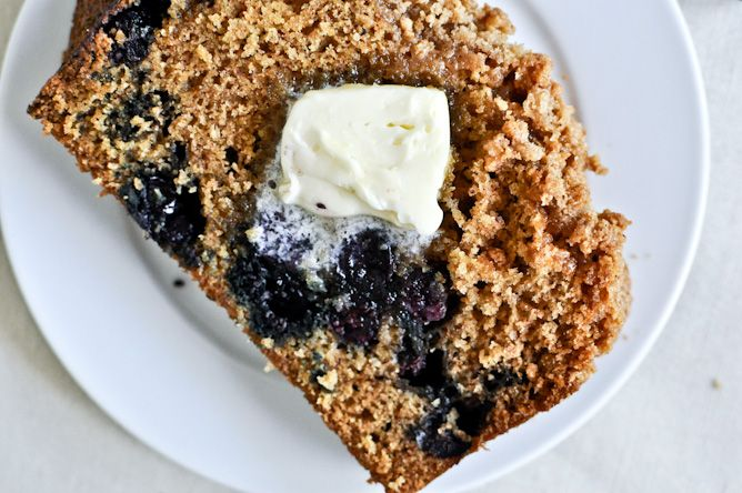 Whole Wheat Blueberry Muffin Bread | Blueberries Muffins, Blueberries ...
