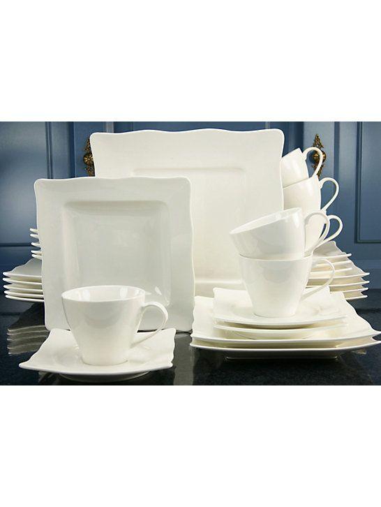 Un service de table en #porcelaine complet qui sera conforme à vos attentes #déco #maison #vaisselle #design