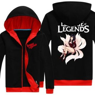 League of Legends plus size zip hoodie for women personalized
