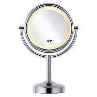 No7 Illuminated Make-up Mirror - See your skin in a truer light with the No7 Illuminated Make-up Mirror, designed to eliminate shadows and glare. 360° lighting around the mirror makes it perfect for make-up application and grooming