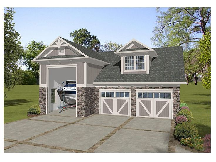 Best 25 two car garage ideas on pinterest for Two car garage with studio apartment