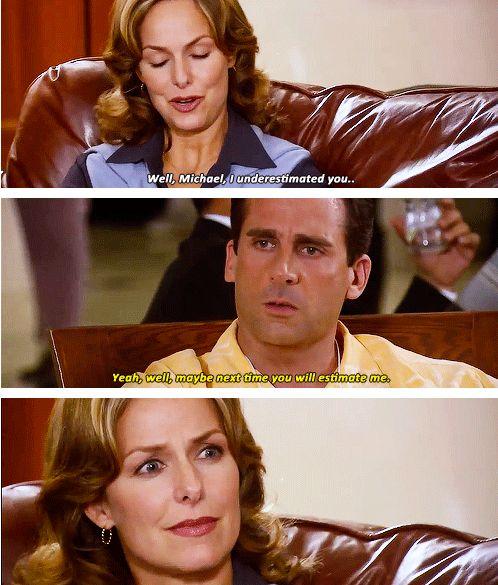 Never underestimate Michael Scott