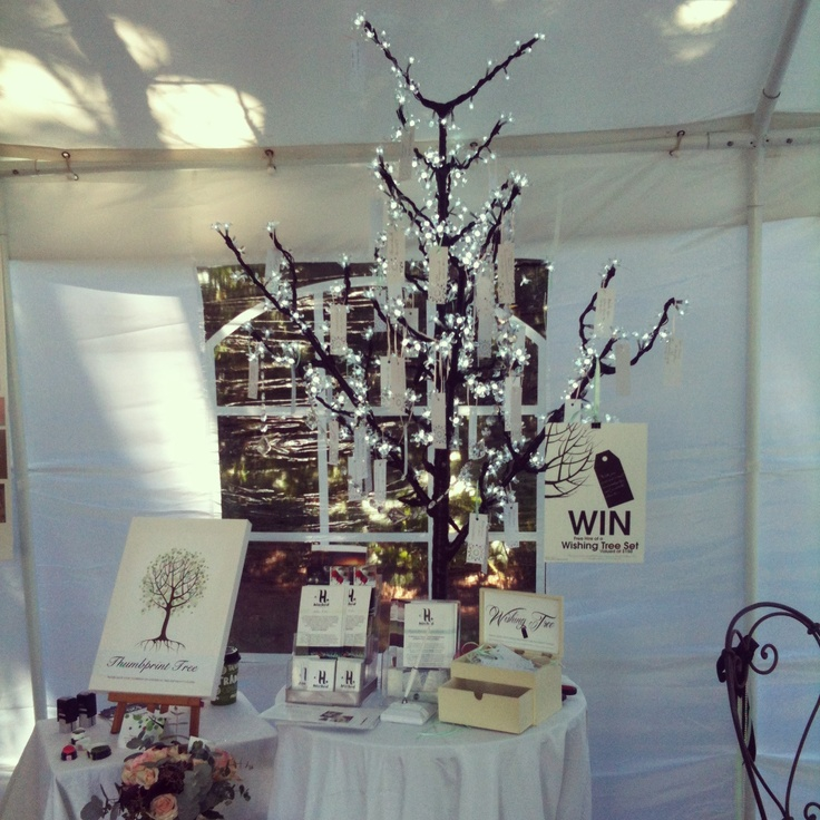 Styled by www.hitched.co.nz Wishing blossom fairy light tree.