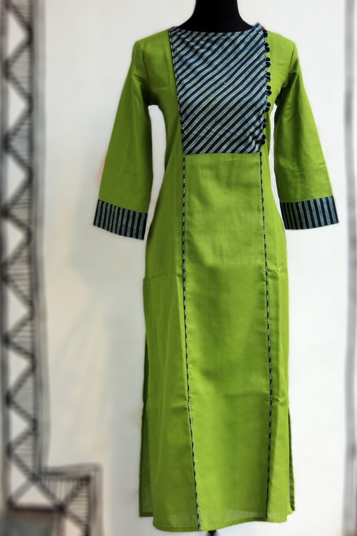 spring green & stripe dori