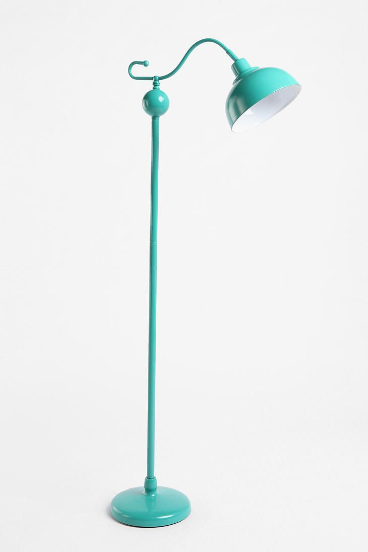 Teal floor lamp - love it!: Living Rooms, Urban Outfitters, Blue Floor, Teal Yellow Decor Bedrooms, Aqua Lamps, Stella Floors, Lamps Urbanoutfitt, Turquoise Lamps, Floors Lamps