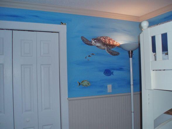 ocean bedroom. Ocean Bedroom  Fun boys ocean themed bedroom wall murals bunkbeds Best 25 kids ideas on Pinterest