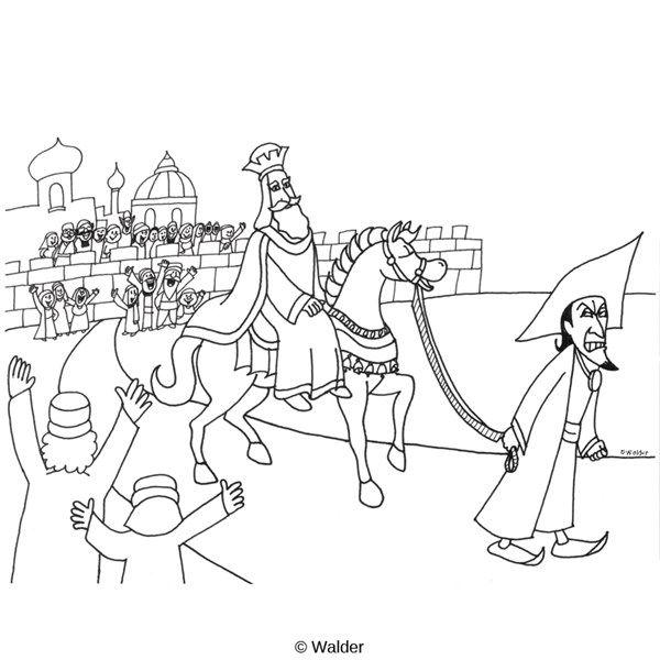 Haman and Mordecai coloring page | 2016 Discipleland | Pinterest ...