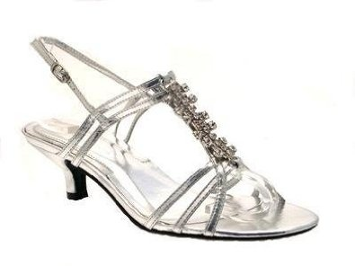 Silver Shoes Ladies Size