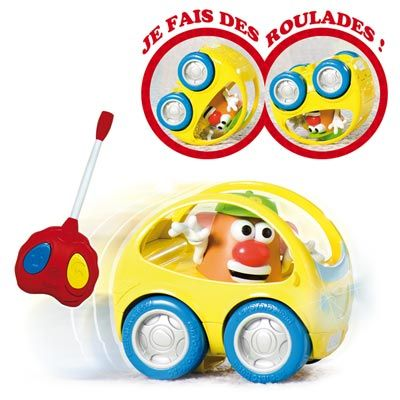 Voiture radiocommandée de Mr Patate Playskool : King Jouet, Voitures radiocommandées Playskool - Véhicules, circuits et jouets radiocommandés