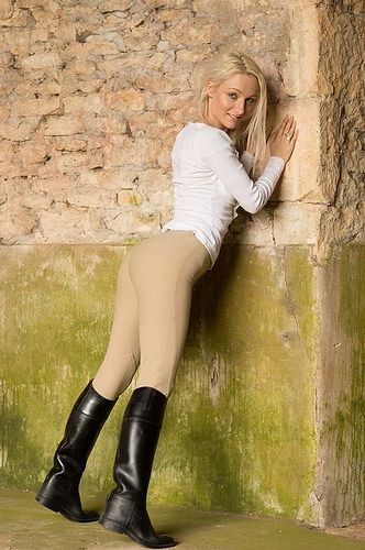 Hot Blonde UK MILF Reiten Hahn
