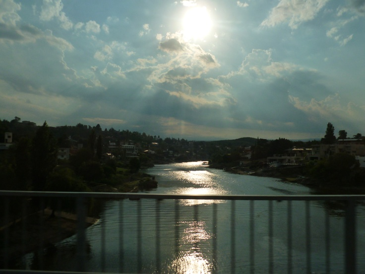Contraluz. Puente arroyo Los Chorrillos