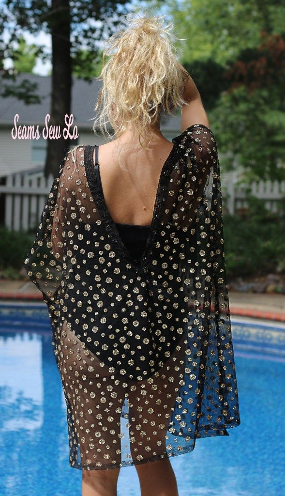 Swimsuit Cover Up Sewing Pattern Release And Sale By Ellie And Mac