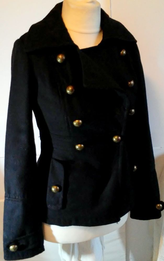 #tumbrl#instagram#avito#ebay#yandex      Bjorn Borg 50% Wool  Coat  BLACK  Size S #BjornBorg #BasicCoat