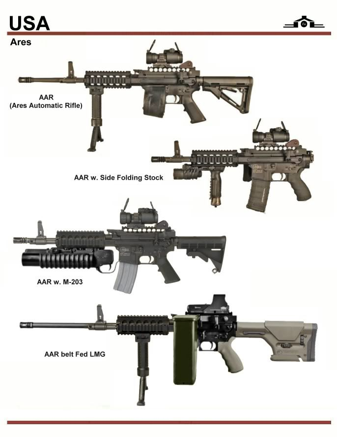 Ares AAR Series | Props_Gun | Pinterest | Magazines, Guns ...