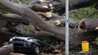 Tropical Storm Otto kills four in Panama