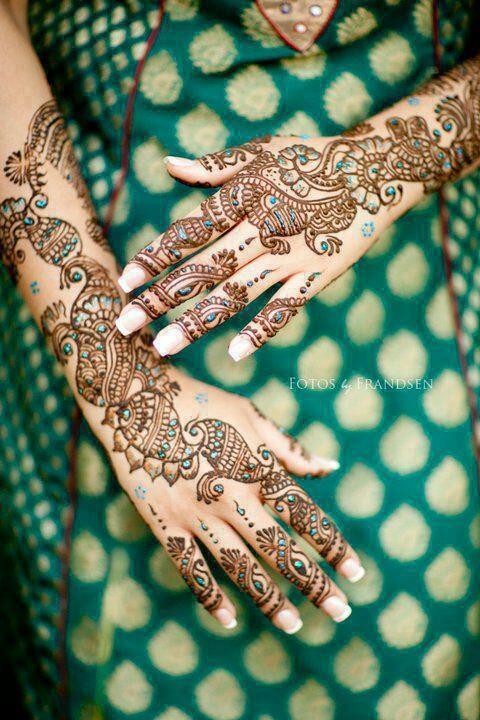 South Asian Bridal Henna Mehndi