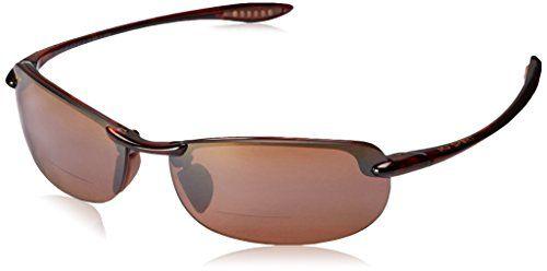 Maui Jim Maui Makaha Reader HT805 1120 Mens Womens Sunglasses Polarised Smoke Grey 2.0--112.99