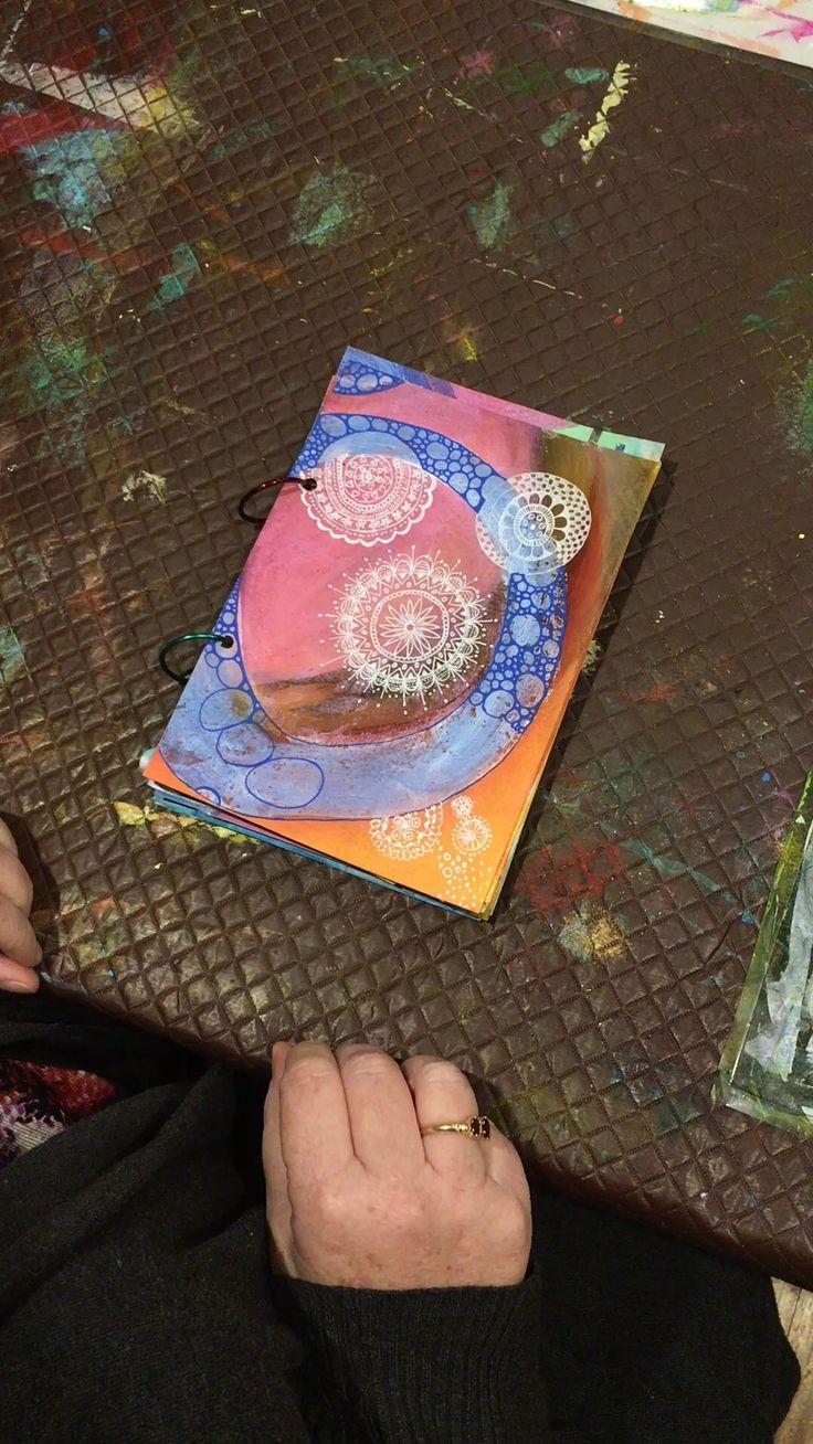 Sylvia Marris, Handmade art journal