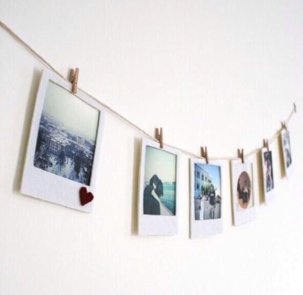 #DIY Polaroid hanger banner perfect for any room. pic.twitter.com/WRjniE6uJj