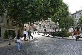 Avignon, the Vatican of France - a temporary home of the papacy during one of the church's many schisms.