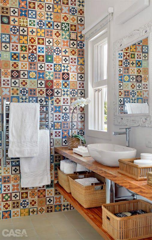 Art de Renovar: Banheiros Rusticos