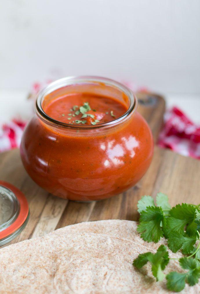Enchiladasaus - Cakeje van eigen deeg