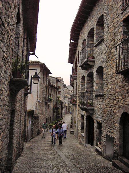 Sepúlveda, villa medieval en Guadalajara (España)