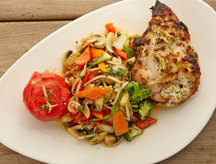 Greek Style Yogurt Chicken – Inspired by the finest Mediterranean cuisine, this Greek style chicken is easy to make, but palatably rich, and delicious.