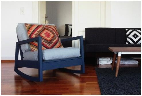 Neuer Mitbewohner, Tags Sessel + Ikea + Wohnzimmer + Upcycling + Lillberg