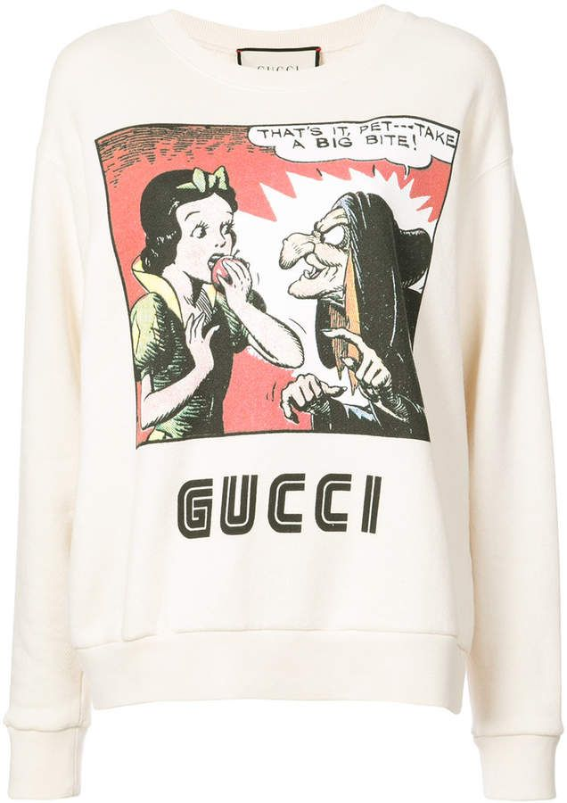 d19cd32e Gucci Snow White sweatshirt | Disney Clothing & More | Sweatshirts ...