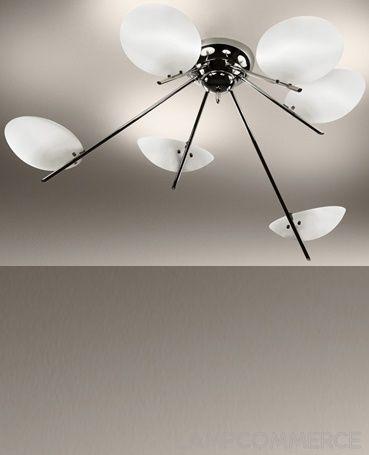 De Majo #Girasole P6 ceilinglamp Design Oriano Favaretto