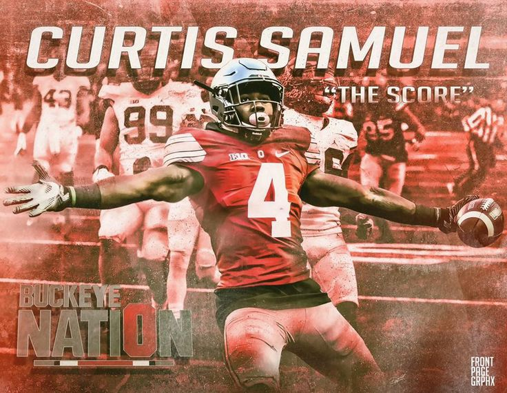 """CURTIS SAMUEL """" THE SCORE """" 11-26-2016 THE GAME BY DARRALL HARRIS."""