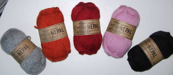 Garnstudio Drops Nepal - Alpaca/Wool  Aran-Weight Yarn