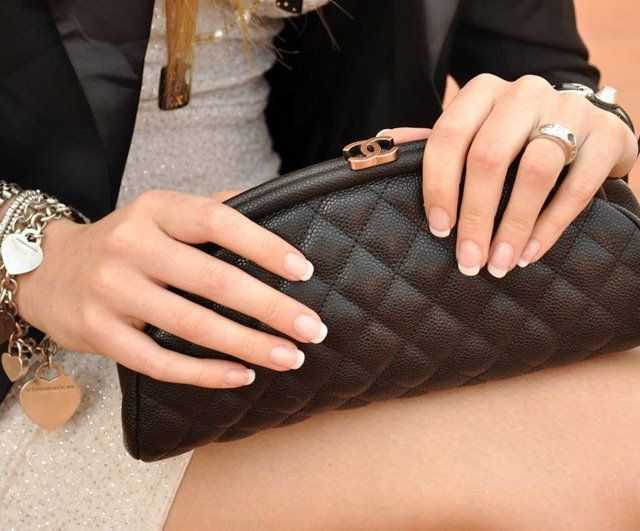Chanel Caviar Clutch - love this bag.  It looks great with everything! ♥