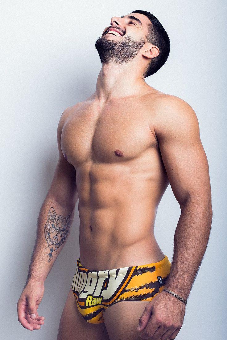 Juanma Izquierdo by Adrian C. Martin for BoysGetWet swimwear