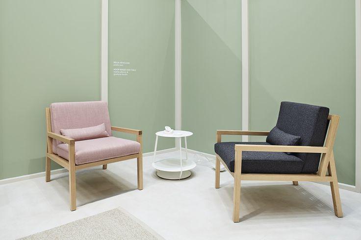 Bella armchair design by Paola Zani