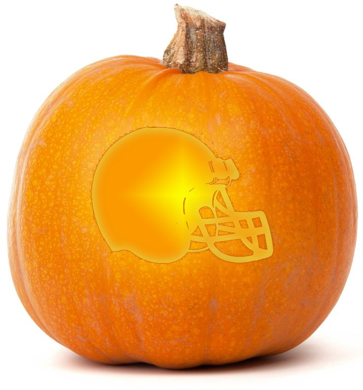 Download our free cleveland browns pumpkin carving for Pumpkin sculpting tutorial
