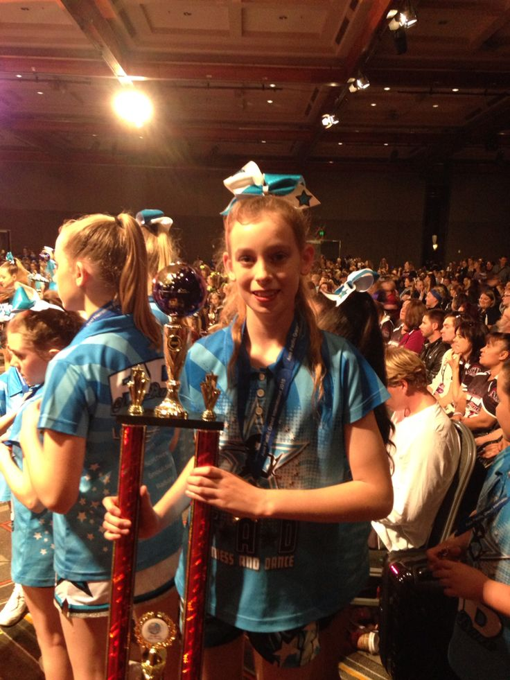 2nd place at Asia Pacfic's Grand International Cheerleading Competition