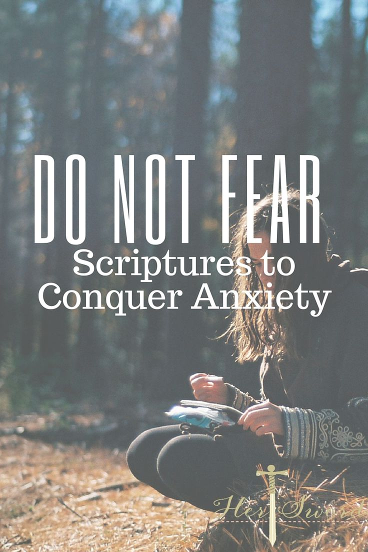 Scriptures to Conquer Anxiety  Her Sword