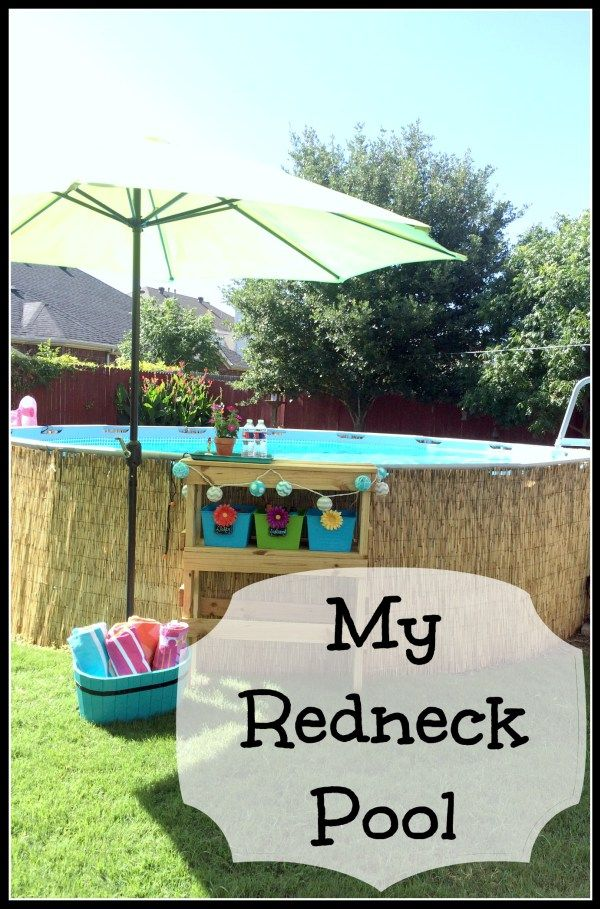 My Redneck Pool