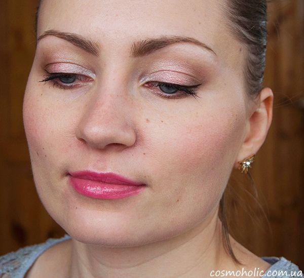 Романтический макияж с #Clarins Garden Escape 6 Colour Eye Palette Long Lasting Wet & Dry. #GardenEscape, #makeup, #макияж