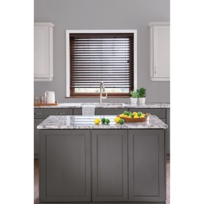 Real Simple® S-Slat PVC Privacy Blind - BedBathandBeyond.com