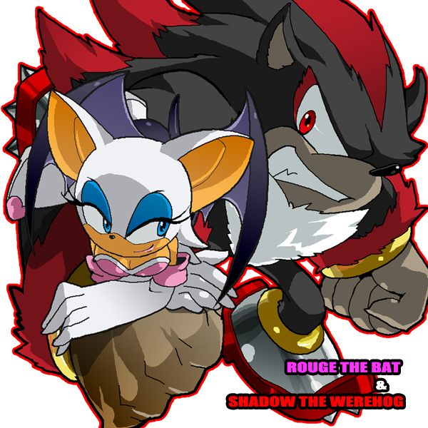 Rouge and shadow the werehog
