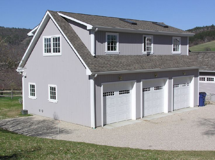 Sharon connecticut multi purpose building 3 bay garage for 2 bay garage plans