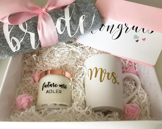 Engagement Gift Basket Bride To Be Set Bridal