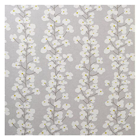 Buy John Lewis Wallflower Curtain, Smoke | John Lewis