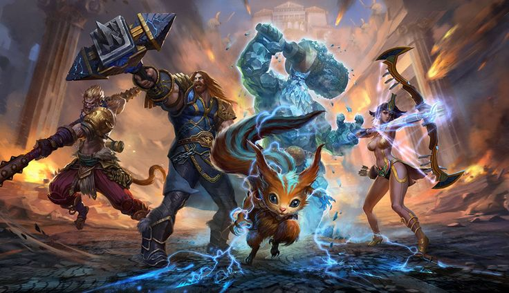 SMITE: Όλα 2x αυτό το Σαββατοκύριακο // More: https://hqm.gr/smite-2x-everything-weekend // #ActionGame #ActionRPG #MOBA #Multiplayer #PS4 #SMITE #XboxOne #Entertainment #Games #MacGames #PCGame #PlayStation #XBOX
