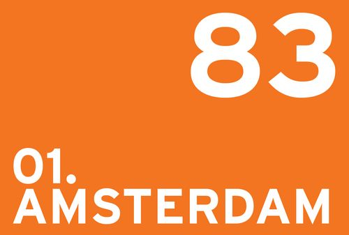 The index of the 150 most bike-friendly cities in the world on The Copenhagenize Index - Amsterdam