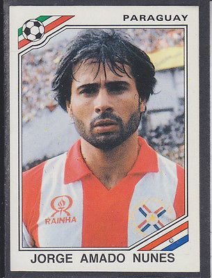 Image result for mexico 86 panini mexico amador