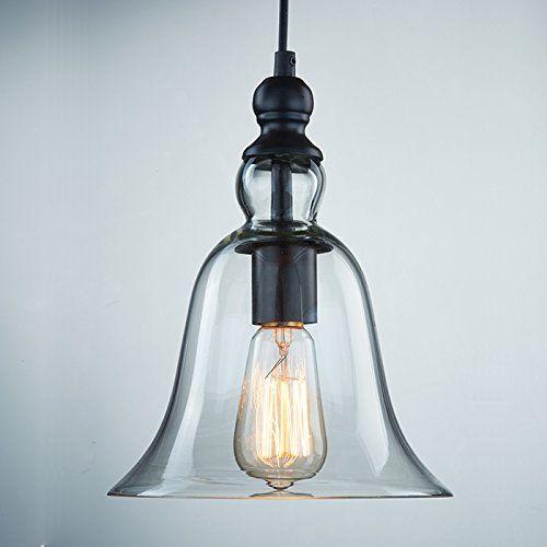 YOBO Lighting Industrial Edison Bell Glass Shade Loft Coffee Bar Ceiling Pendant Light YOBO Lighting http://www.amazon.co.uk/dp/B00KKCDO6A/ref=cm_sw_r_pi_dp_8pfVtb08VWSJNWBF